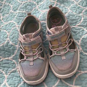 Stride Rite multi color closed toe sandals